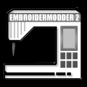 Embroidermodder - Image: Embroidermodder 2 doublesize icon 2013 07 26