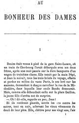 Émile Zola: Au bonheur des dames