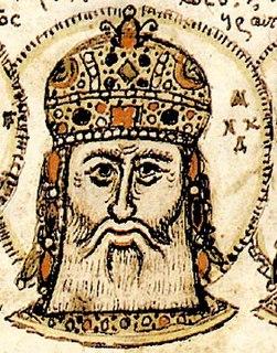 Andronikos II Palaiologos Byzantine emperor from 1282 to 1328