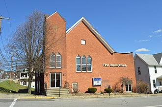 Emporium, Pennsylvania - Image: Emporium First Baptist