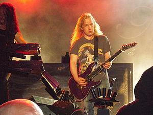 Emppu Vuorinen - Emppu Vuorinen performing live with Nightwish at Norway Rock Festival in 2009