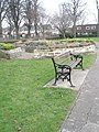 Empty seat in Litten Gardens - geograph.org.uk - 1141069.jpg