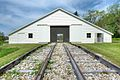 Engine House with open doors, Plane 6, Allegheny Portage RR.jpg