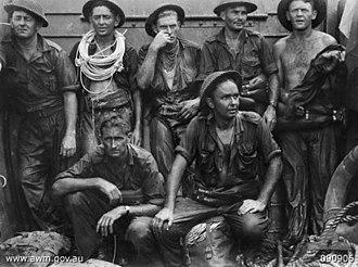 Royal Australian Engineers - Engineers at Tarakan, 1945