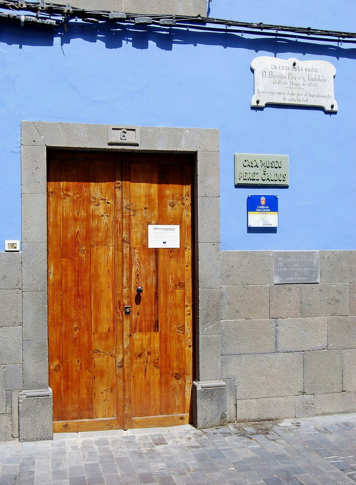 Entrance Museo de Pérez Galdós.JPG
