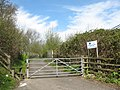 Entrance to Honey Hill campsite - geograph.org.uk - 777941.jpg