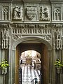 Entrance to the Beauchamp Chapel at St Mary's.jpg