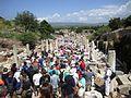 Ephesos Überfüllt.JPG