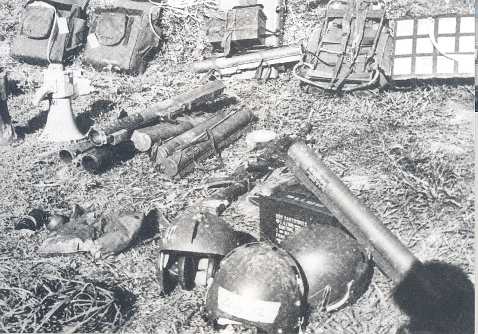 Equipment left behind by Son Tay raiders
