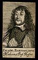 Erasmus Bartholin. Line engraving, 1688. Wellcome V0000377.jpg