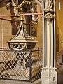 Erfurt - St Severikirche Taufstein (St Severus Church Font) - geo.hlipp.de - 39994.jpg