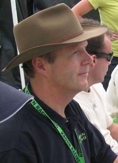 Eric van de Poele racecar driver