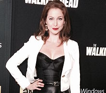 Esme Bianco at Walking Dead premiere.jpg