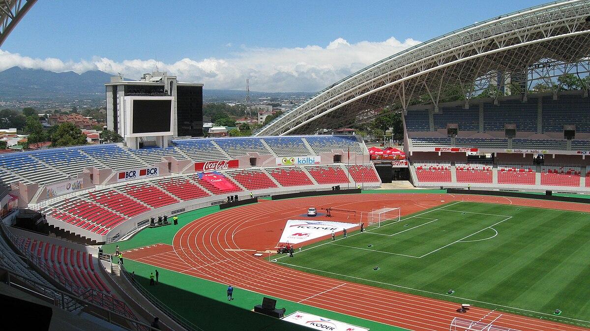 Estadio nacional de costa rica 2011 wikipedia la for Puerta 9 del estadio nacional de lima