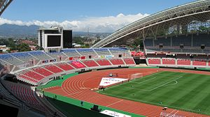 Liga FPD - Given certain circumstances, most teams of the Liga FPD play some home matches at the Estadio Nacional