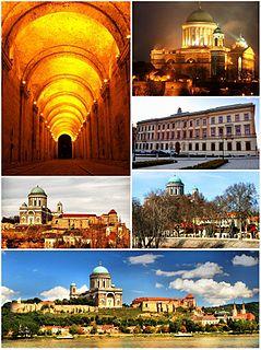 Town in Komárom-Esztergom, Hungary