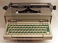 Ettore sottsass per olivetti & c. spa., macchina da scrivere elettrica praxis 48, 1964.jpg