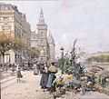 Eugène Galien-Laloue Paris Quai aux fleurs et la Conciergerie.jpg