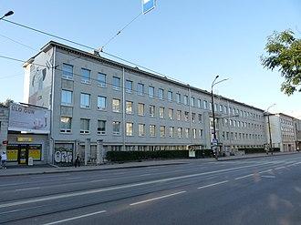 Tallinn University - Terra building on Narva Maantee