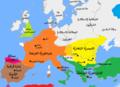 Europe in 814, Charlemagne, Krum, Nicephorus I-ar.png