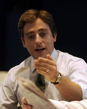 Evan Osnos - Osnos at the World Economic Forum Annual Meeting of the New Champions in 2011