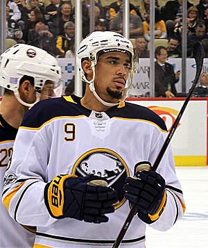 Evander Kane - Kane with the Sabres in 2017