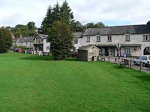 Exford, Somerset - Exford Village Green