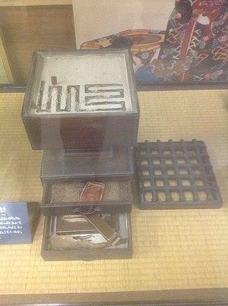 Daimyo Clock Museum - Japanese incense clock, Daimyo Clock Museum, Tokyo