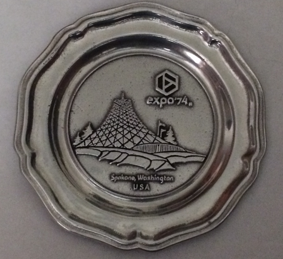 Expo 74 Plate