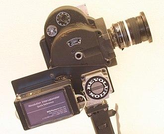 Eyemo - Eyemo with Motor and Nikon Lens