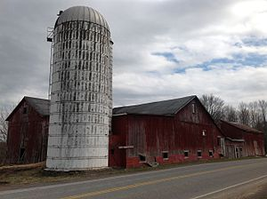 Marion, New York - The Ezra T. Phelps Farm Complex is a good example of Marion's long history with agriculture