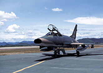 Phù Cát Air Base - 416th TFS F-100F at Phù Cát
