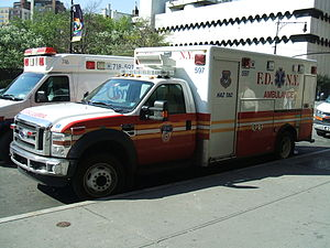 New York City Fire Department Bureau of EMS - FDNY Haz-Tac Ambulance