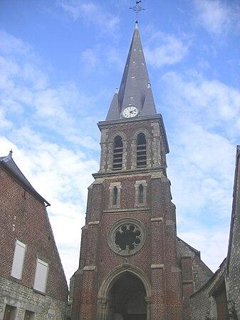 Église Saint-Pierre de Bucy-lès-Pierrepont