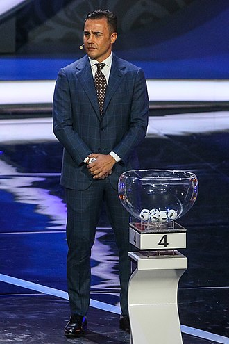 2018 FIFA World Cup - Italian World Cup winner Fabio Cannavaro in Moscow at the 2018 World Cup draw