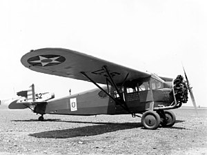 Fairchild 71 - One of the YF-1 aircraft