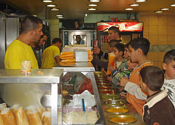 Falafel in Nazareth by David Shankbone.jpg