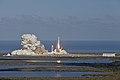 Falcon Heavy despegando 01.jpg