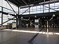 Fare mezzanine at West Dublin Pleasanton station, May 2018.JPG