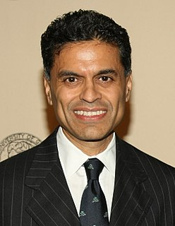 Fareed Zakaria Indian-American journalist and author