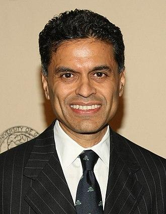 Fareed Zakaria - Image: Fareed Zakaria, Peabody Awards (2012) (cropped)