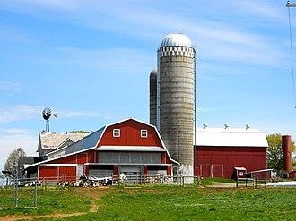 Honey Brook Township, Chester County, Pennsylvania - Farm on Pleasant View Rd.