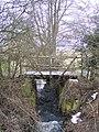 Farm bridge in New Barn Farm - geograph.org.uk - 1711851.jpg