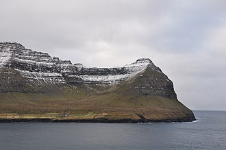 Múli - Image: Faroe Islands, Borðoy, Múli (2)