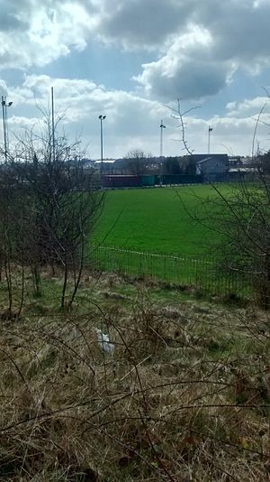 Fartown Ground - Image: Fartown.stand