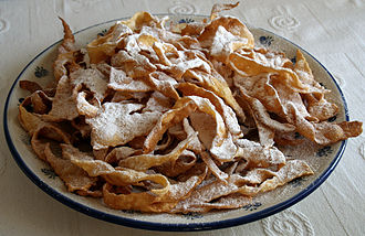 Fat Thursday - A plate of angel wings