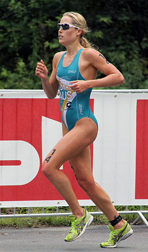 Felicity Abram - Felicity Abram at the World Championship Series triathlon in Kitzbühel, 2010