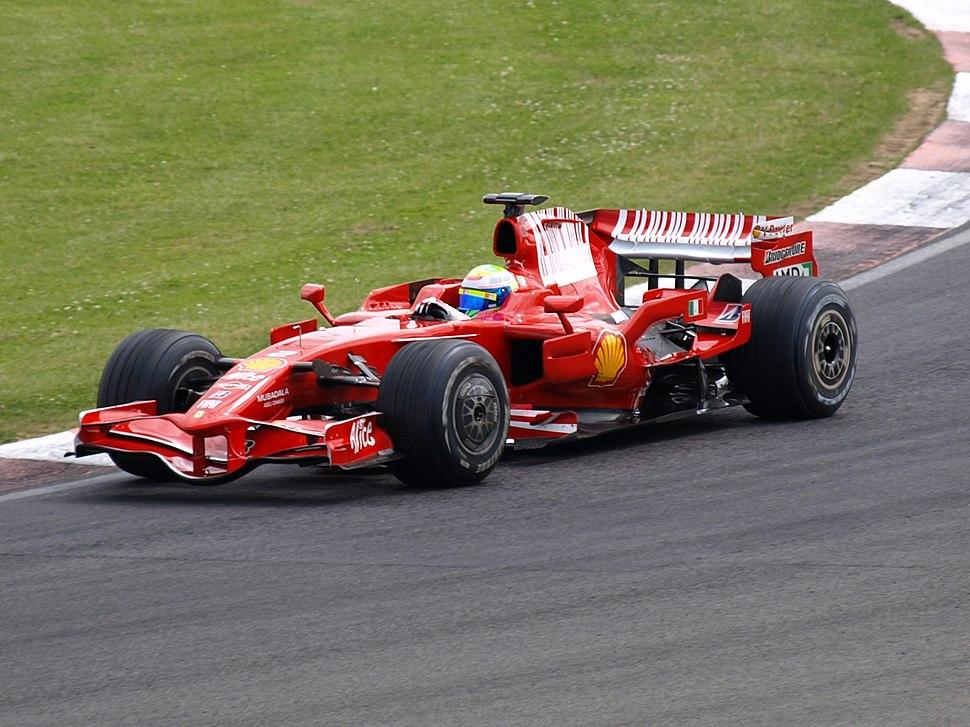 Felipe Massa 2008 test
