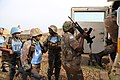 Female combat troops of South African Contingent in MONUSCO on robust foot and moblile patrols 26.jpg