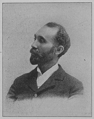 Ferdinand Lee Barnett (Chicago) - Photo of Barnett from 1900